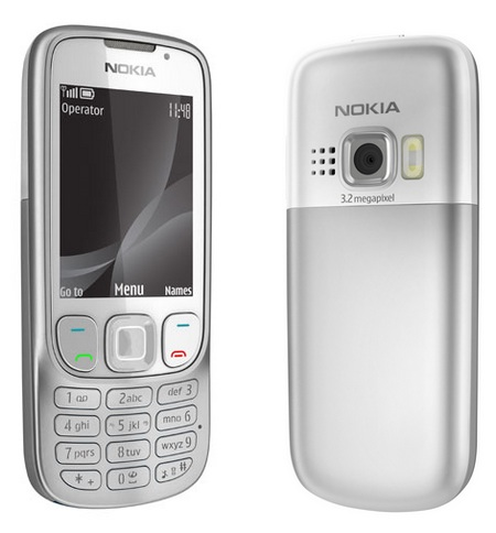Nokia 6303i classic mobile phone silver