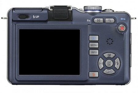 Olympus PEN E-PL1 Micro Four Thirds Camera back