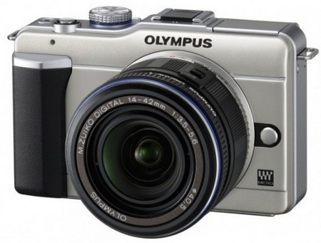 Olympus PEN E-PL1 Micro Four Thirds Camera silver