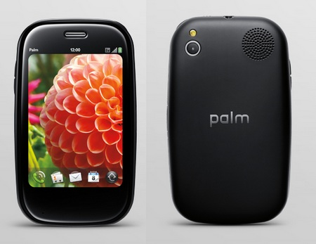 Palm Pre Plus webOS phone front back