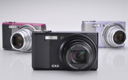 Ricoh CX3 Camera gets back-illuminated CMOS sensor and 10x zoom
