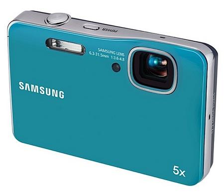 Samsung AQ100 waterproof camera