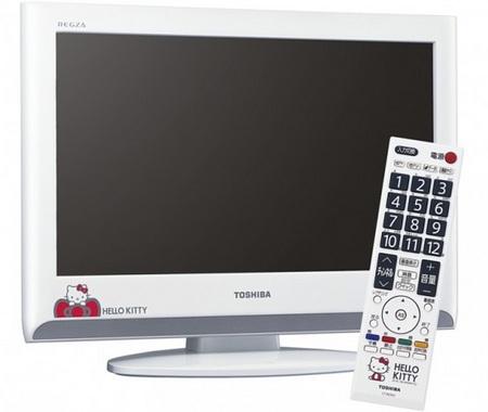 Sanrio 19A800KT Hello Kitty LCD TV by Toshiba
