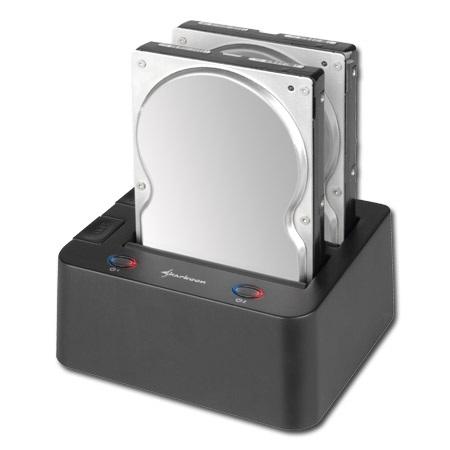 Sharkoon SATA QuickPort Duo USB3.0 Hard Drive Dock