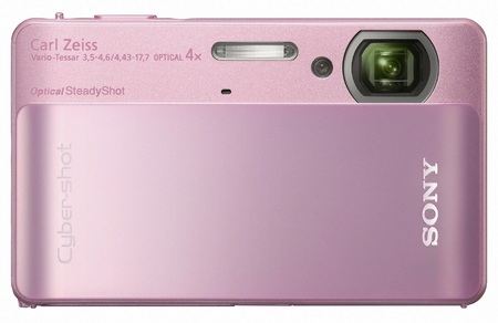 Sony Cyber-Shot DSC-TX5 Ultra Tough Camera pink