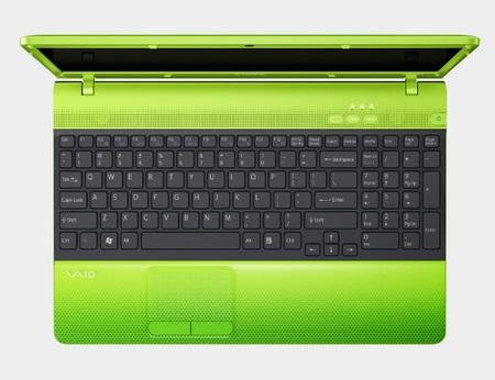 Sony VAIO E Series Notebook Caribbean Green