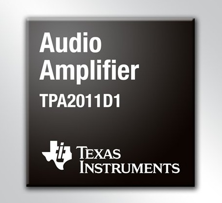 TI TPA2011D1 - the smallest Class-D Audio Amplifier for Portable Devices