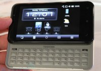 Toshiba K01 SnapDragon Phone with QWERTY Keyboard
