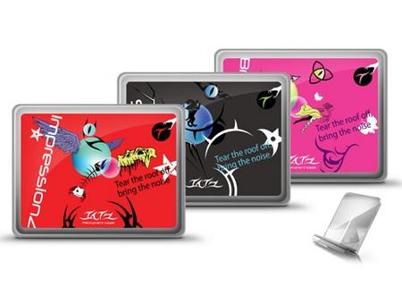iluv iCC804 Ultra Thin Case with Tatz Graphics ipad