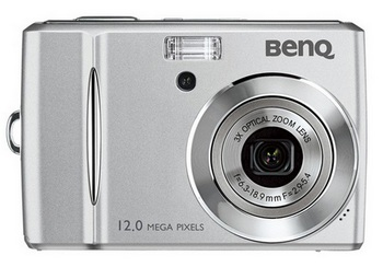 BenQ C1250 and C1255 Digital Cameras silver