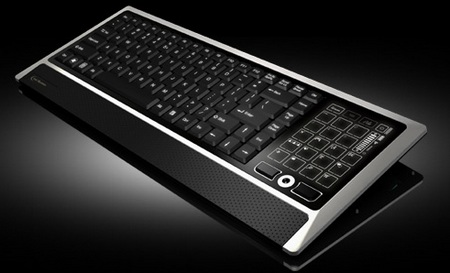 Eclipse LiteTouch Wireless Keyboard angle