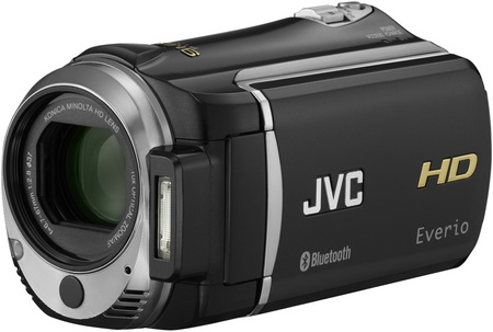JVC Everio GZ-HM550 Full HD Camcorder with Bluetooth