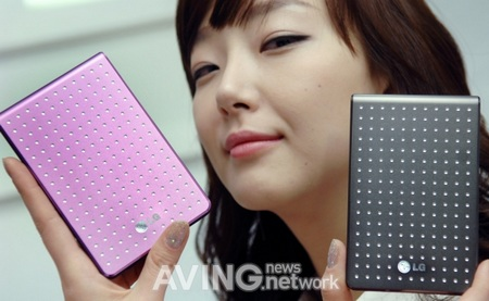 LG XD6 Jewelry Portable Drive designed by NellyRodi