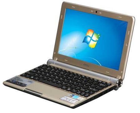 MSI Wind U160 Netbook brown