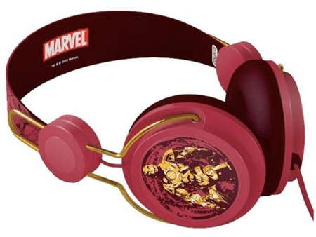 Marvel Coloud Headphones Iron Man