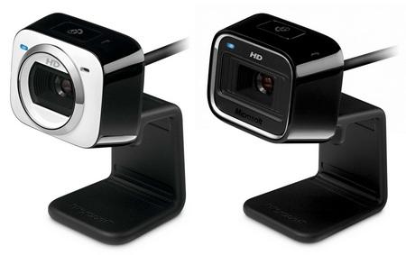 Microsoft LifeCam HD-5000 and HD-5001 720p HD webcam