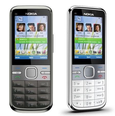 Nokia C5 Candybar Smartphone runs S60 3rd edition