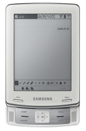 Samsung E6 eReader coming to Barnes & Noble