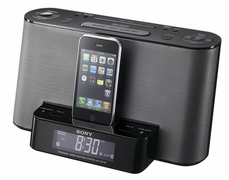 Sony ICF-DS11iP iPod dock clock radio