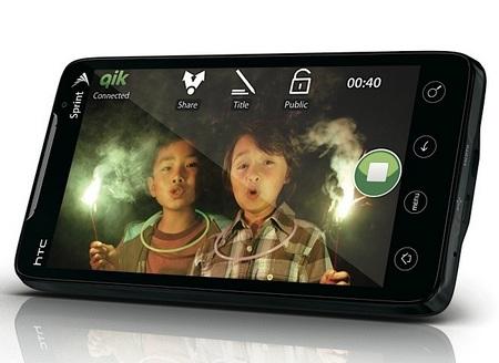 Sprint HTC EVO 4G Android Superphone horizontal