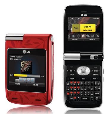 Sprint LG Lotus Elite LX610 clamshell QWERTY mobile phone