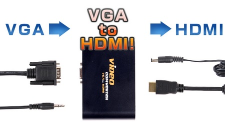 Thanko VGA to HDMI Converter