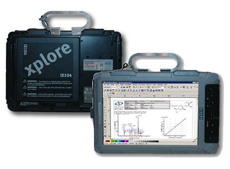 Xplore iX104C4CR Clean Room Tablet PC