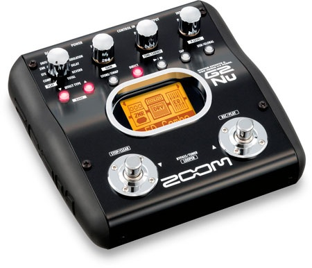 ZOOM G2Nu Guitar Effects Pedal with USB Interface