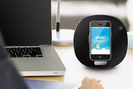 iLuv iMM190 App Station Speaker Dock for iPhone and iPod desktop