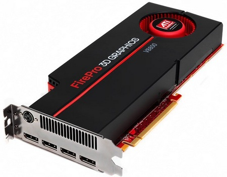 AMD ATI FirePro V8800 Professional Graphics Card