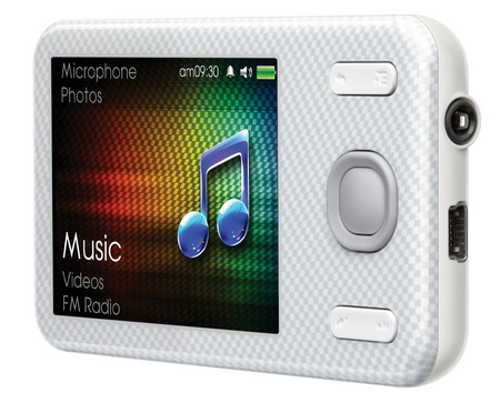 Creative ZEN X-Fi Style Portable Media Player white