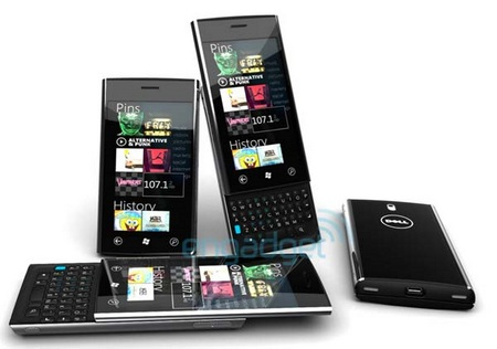 Dell Lightning QWERTY Slider with Windows Phone 7