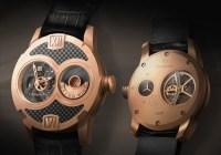 Gresso Grand Wind Skeleton Watch Rose Gold
