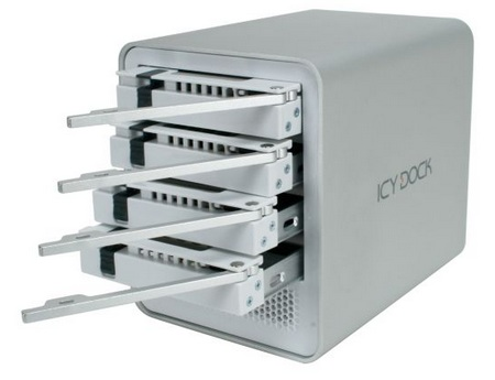 Icy Dock MB561US-4S-1 USB eSATA HDD Enclosure