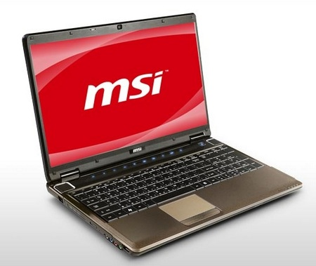 MSI GE600-002US Core i5 Notebook