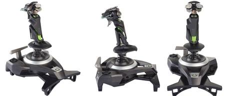 Mad Catz Cyborg F.L.Y. 9 Wireless Flight Stick for Xbox 360