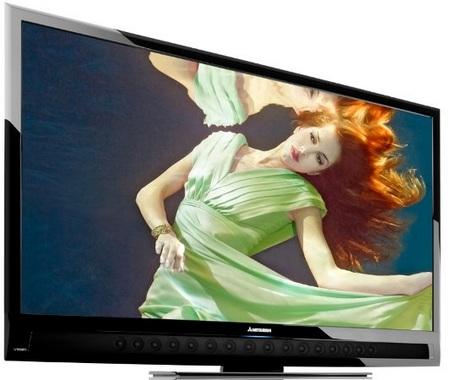 Mitsubishi 2010 Unisen Immersive Sound LCD HDTVs - LED-backlit, Bluetooth, WiFi