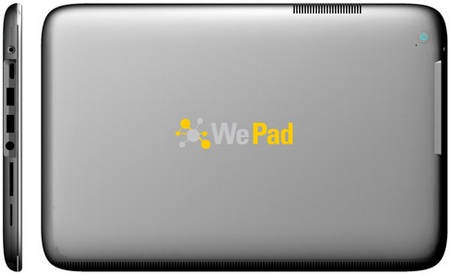 Neofonie WePad Slate Tablet back