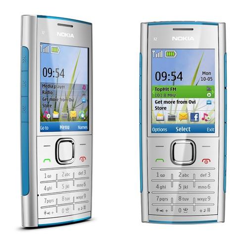 Nokia X2 Candybar Music Phone Silver