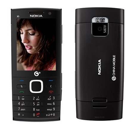 Nokia X5-00 TD-SCDMA Phone Black
