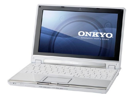 Onkyo MX1007A4 Netbook with 14.4 Hours of Battery Life