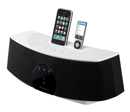Pioneer Duo Series XW-NAC1-K Dual-Dock iPod Speaker