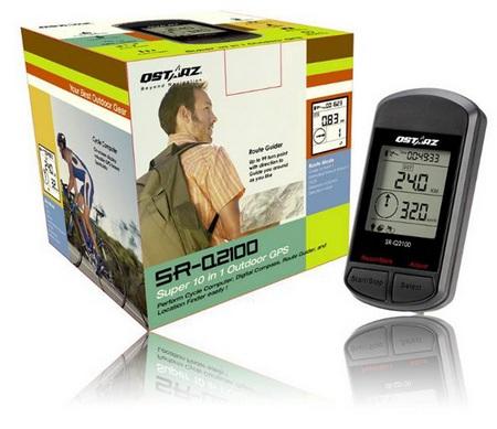 QStarZ SR-Q2100 Handheld GPS Device