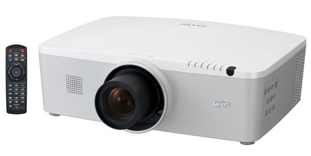 Sanyo LP-WM5500 WXGA Projector with 5,500 Lumens