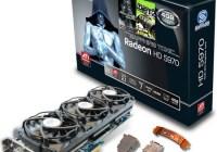 Sapphire Radeon HD5970 4G TOXIC Edition runs at 900MHz