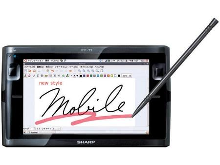Sharp NetWalker PC-T1 Ubuntu Tablet Device