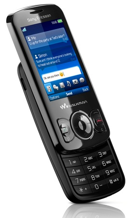 Sony Ericsson Spiro Walkman Phone slide