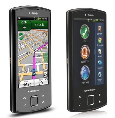 T-Mobile Garminfone Android Smartphone.