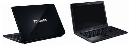 Toshiba Satellite L670, L650 and C650 Notebooks