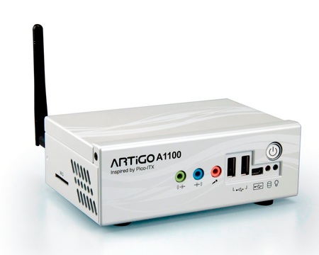 VIA ARTiGO A1100 DIY Nettop Kit with WiFi
